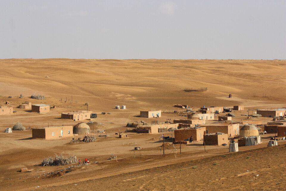 Oase Damla in der Karakum-Wüste