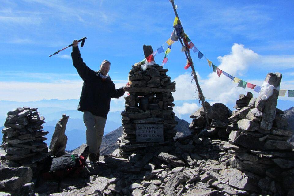 Besteigung des Surya Peak