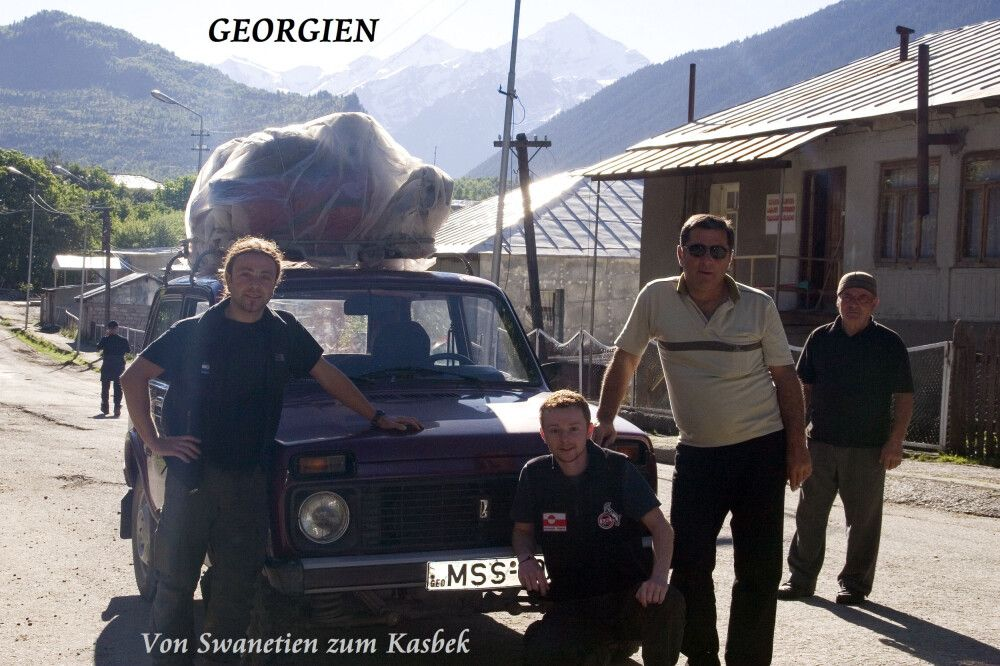Expedition nach Swanetien