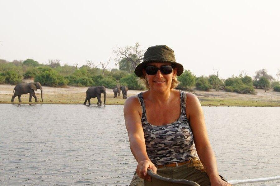 Am Chobe-Fluss