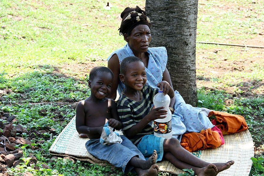 Besuch bei einer Zulu-Familie
