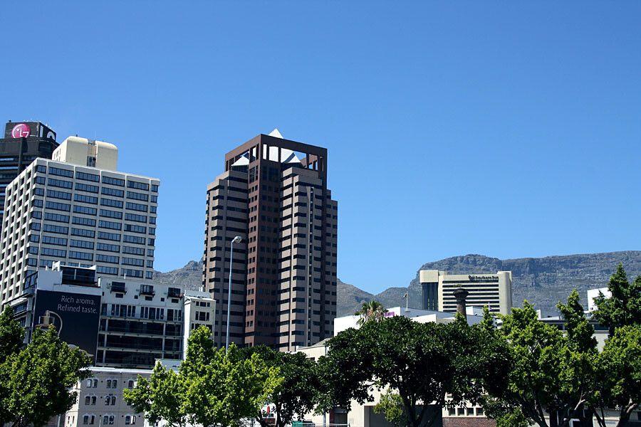 Skyline von Kapstadt