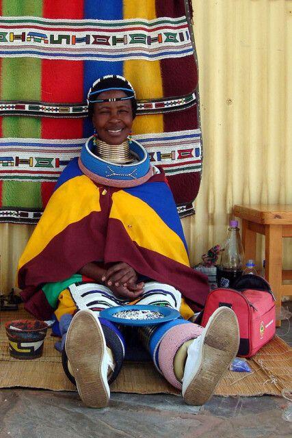 Ndebele-Frau-in-Pilgrims Rest
