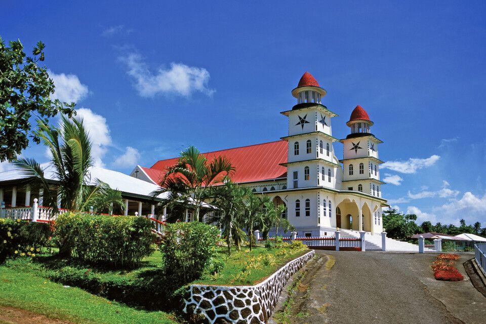 Christliche Missionare brachten im 19.Jhd. den Glauben auf Samoa