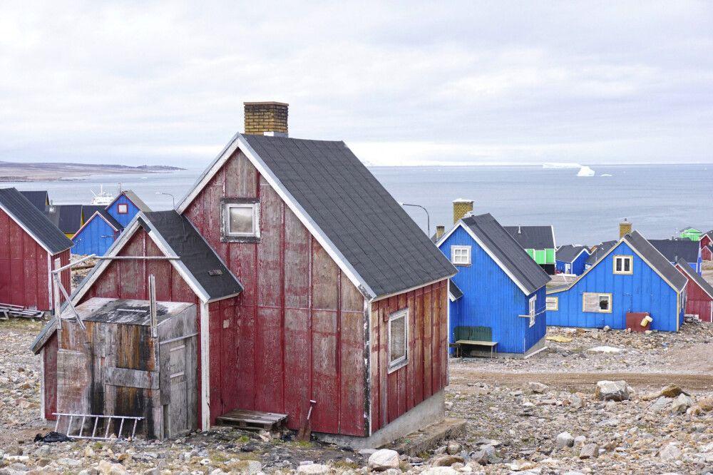 Die kleine Siedlung Ittoqqortoormiit