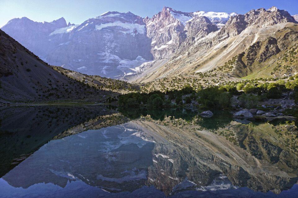 Typischer Bergsee im Fan