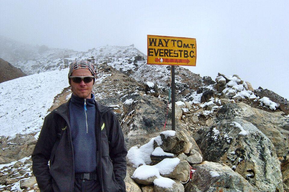 Weg zum Mount-Everest-Basislager