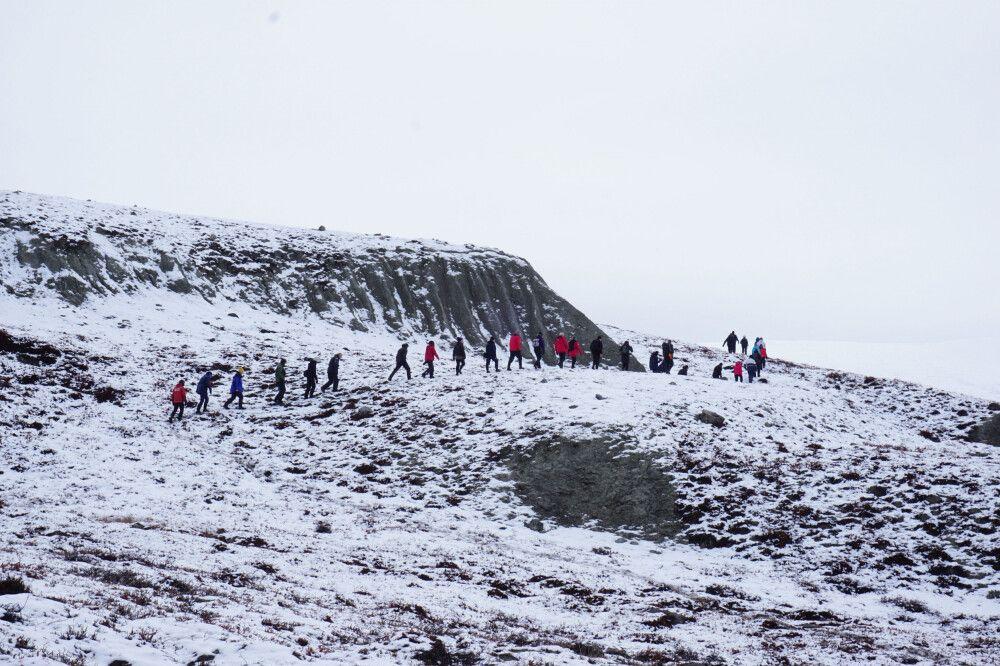 Im Scoresby Sund von Grönland
