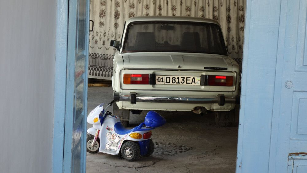 Fahrzeug aus alten Zeiten