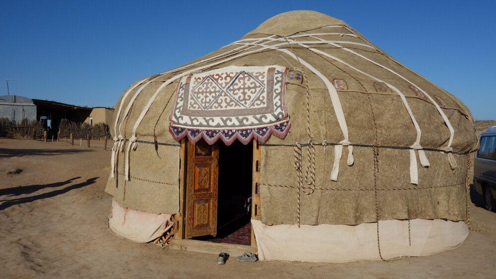 Jurte in Usbekistan