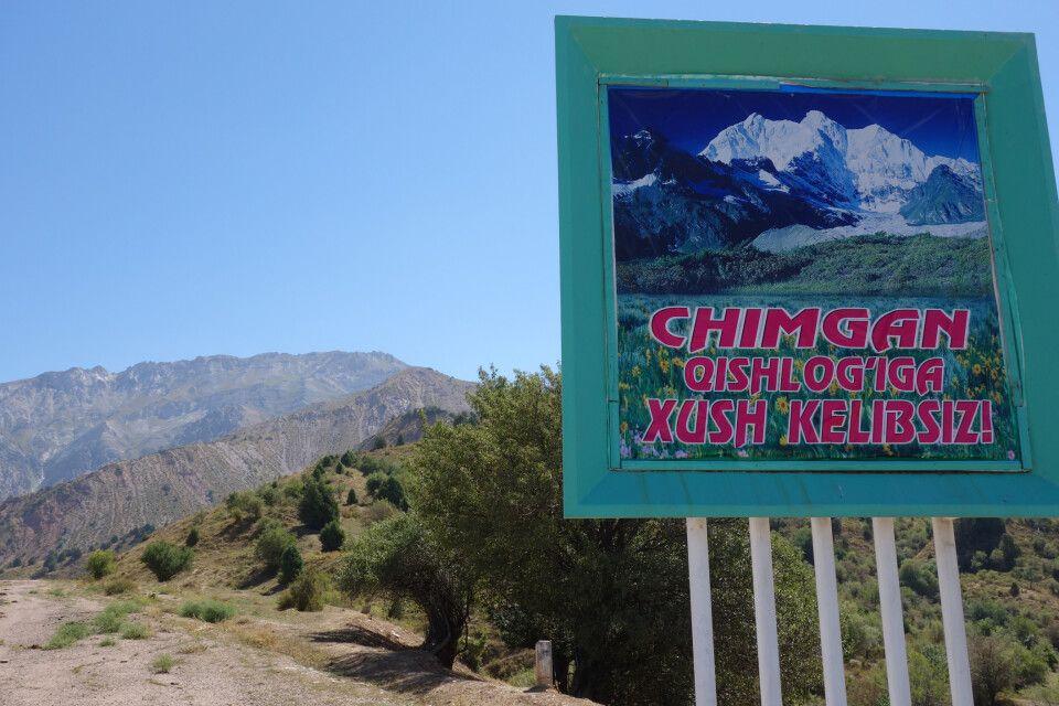 Die Berge von Chimgan