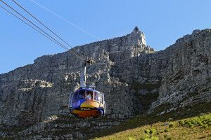 Seilbahn am Tafelberg