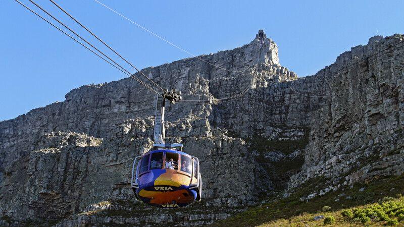 Seilbahn am Tafelberg © Diamir
