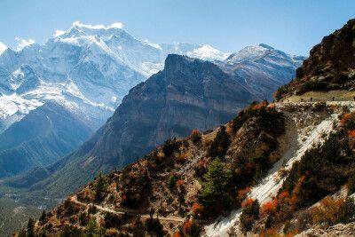 Fantastische Panoramawege machen dieses Trekking aus
