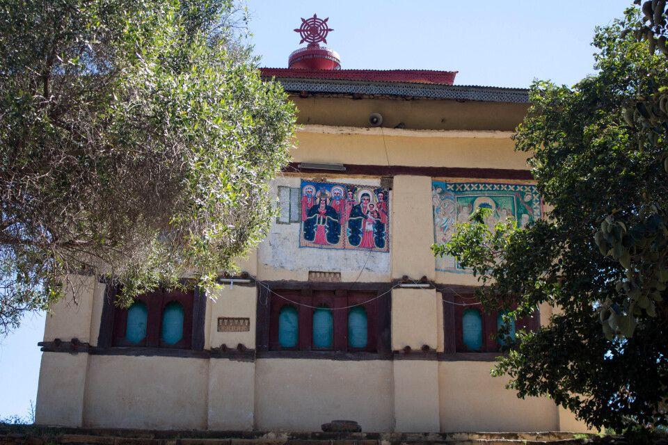 versteckte Felsenkirchen der Tigray Region