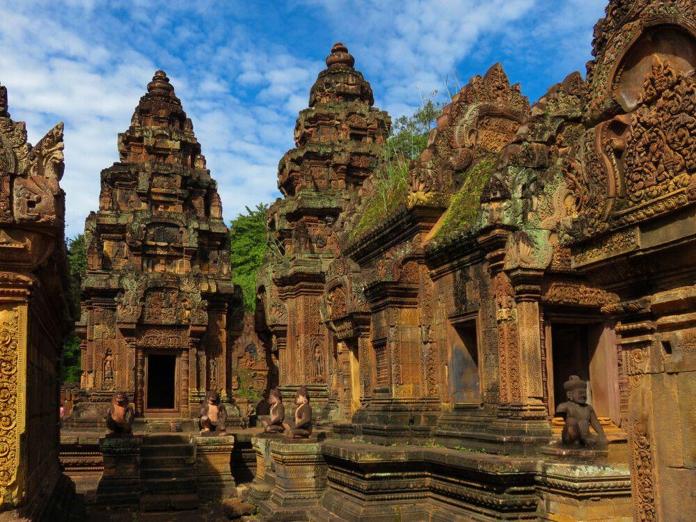 Beeindruckende Ruinen von Angkor