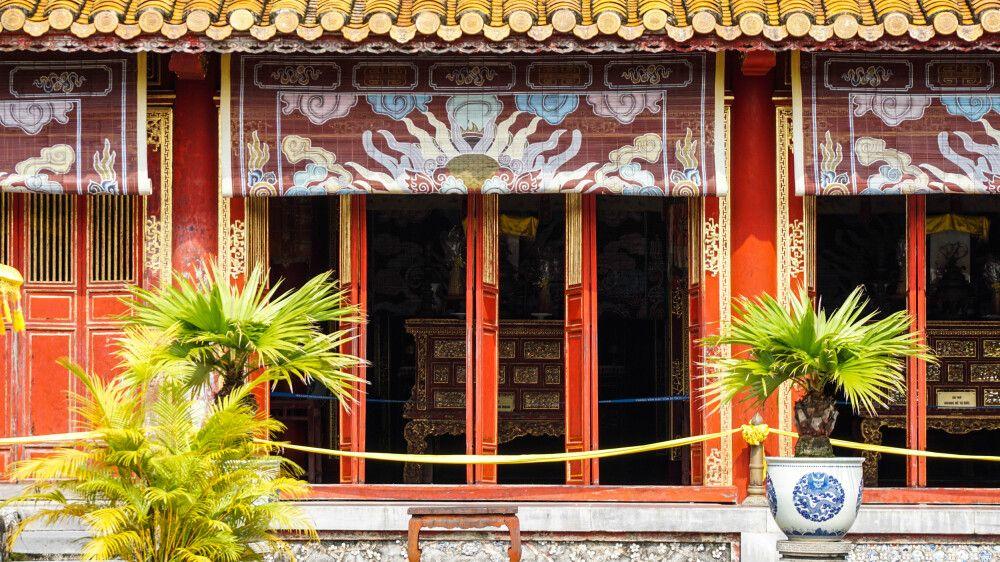 Verbotete Stadt in Hue