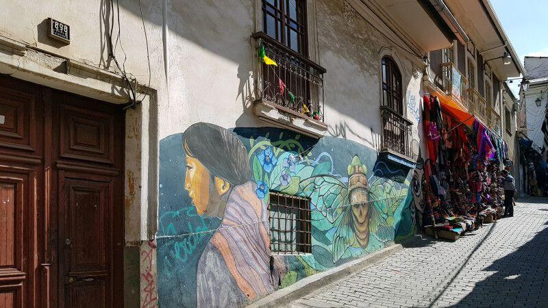 Unterwegs auf dem Markt in La Paz  © Diamir