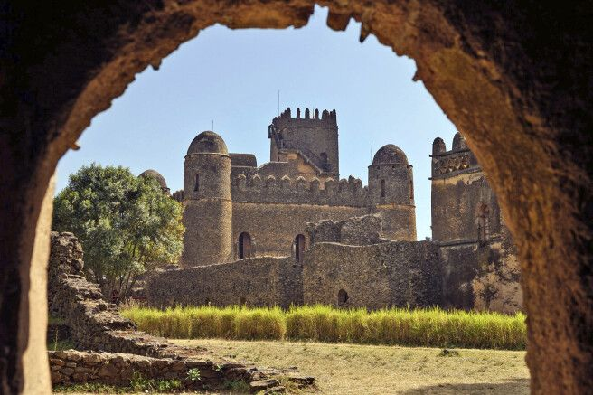 Palastbezirk in Gondar
