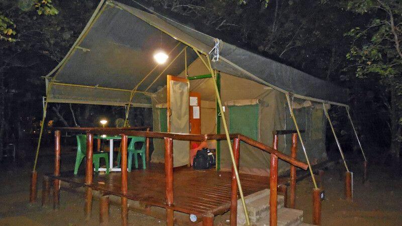 Letaba Restcamp (permanentes Hauszelt) © Diamir