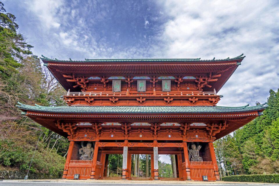 die heilige Daimon-Pforte in Koyasan