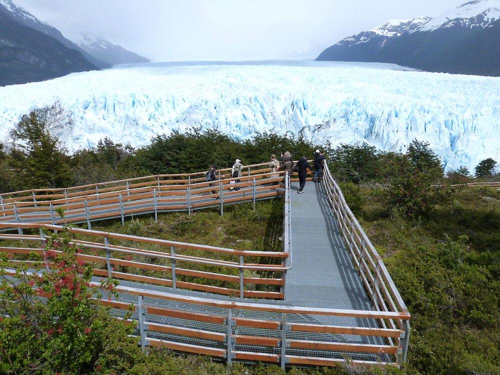Gewaltige Ausblicke zum Perito-Moreno-Gletscher