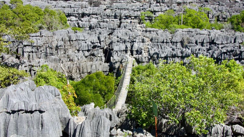 Beeindruckenden Tsingys im Ankarana-Nationalpark © Diamir