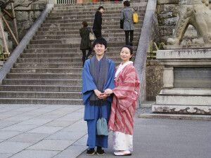 Begegnungen am Fushimi-Inari-Schrein