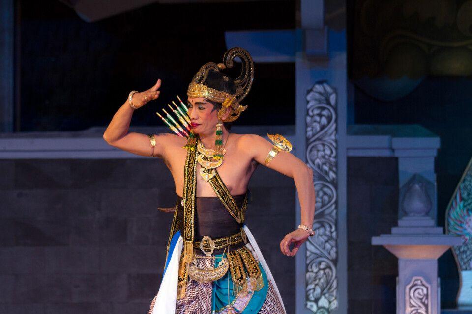 Das Ramayana Ballet Purawisata in Yogyakarta