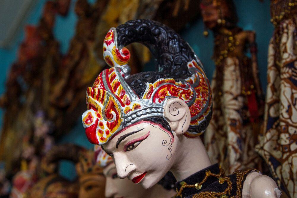 Kunstgewerbe im Kraton-Viertel in Yogyakarta