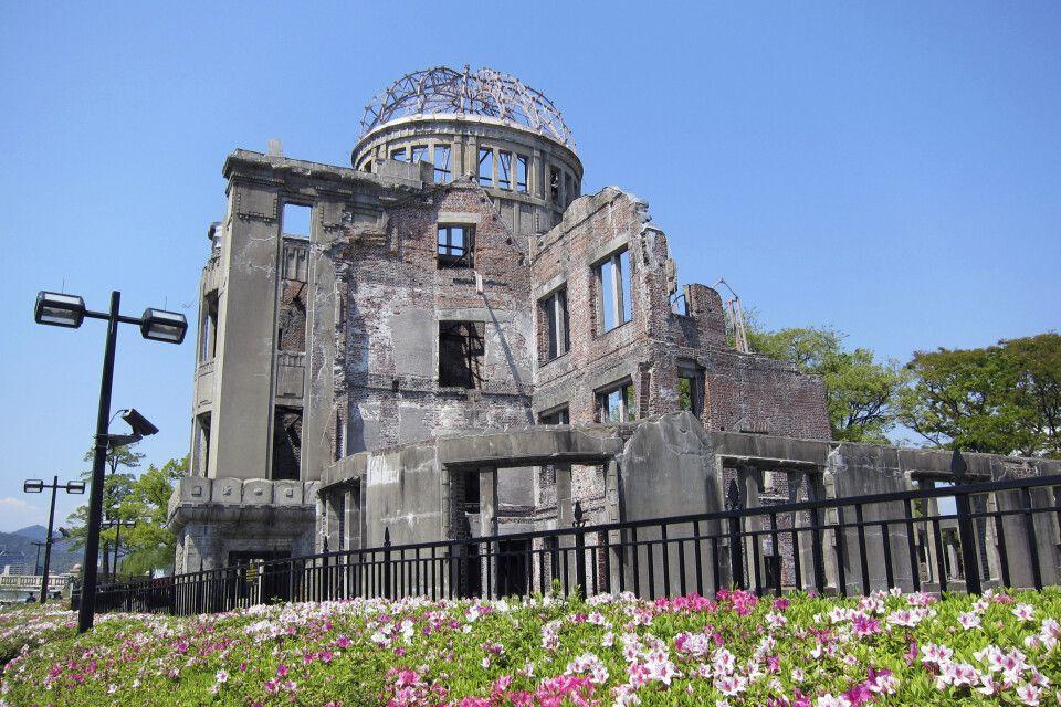 Historisches Mahnmahl – Die Atombombenkuppel in Hiroshima