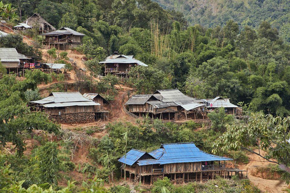 In den bergen Myanmars