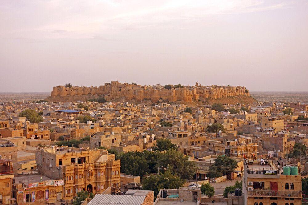 Jaisalmer – Wüstenstadt in Rajasthan