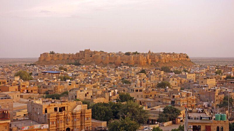 Jaisalmer – Wüstenstadt in Rajasthan © Diamir