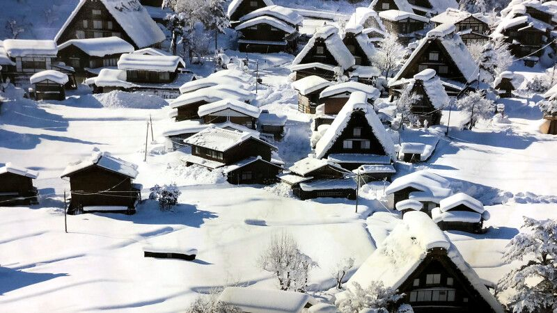 Wintermärchen in Shirakawa-go © Diamir