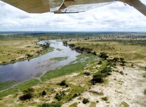 Der Ruaha Fluss im Ruaha-Nationalpark