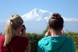 Vulkan Berg Ararat