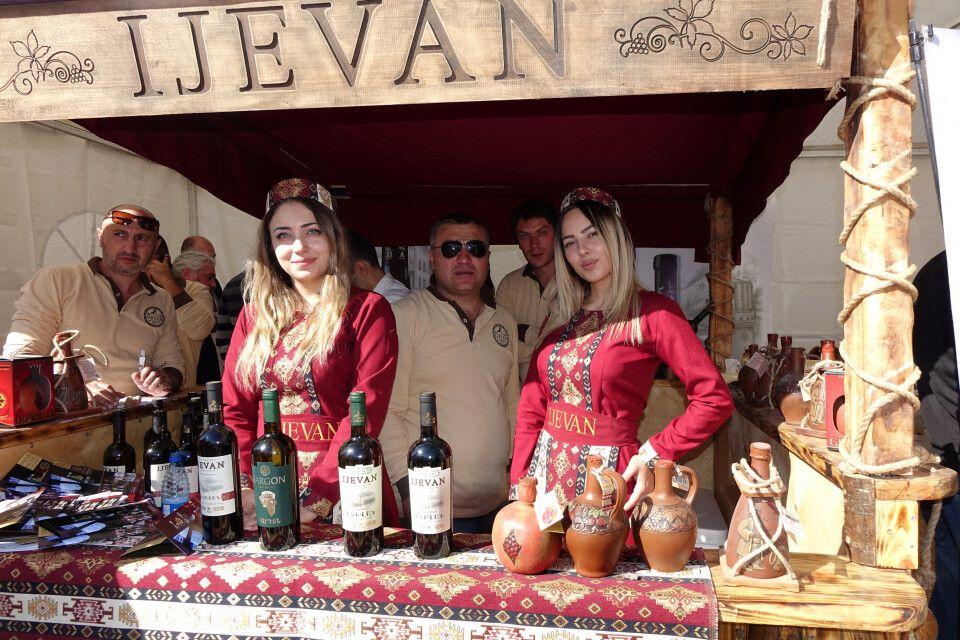 Wein aus der Provinz Ijevan