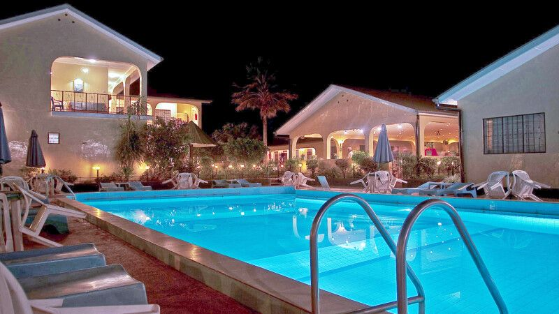Pool im Springlands Hotel © Diamir