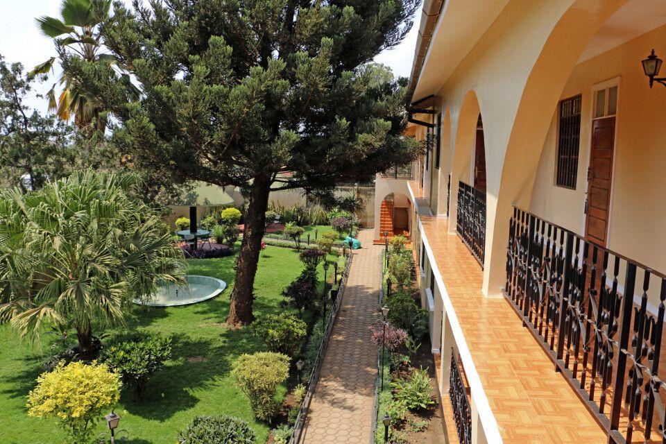 Garten im Springlands Hotel