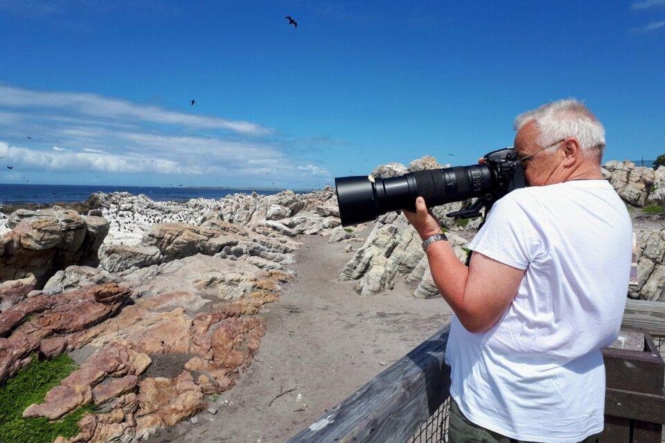 Fotostopp auf dem Küstenpfad in Hermanus