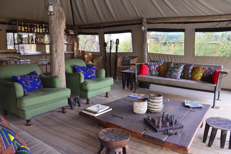 Sango Camp, Khwai-Fluss, Botswana