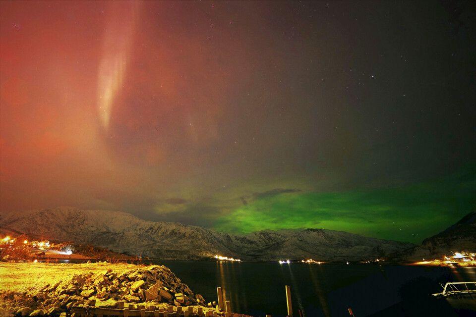 Nordlicht über Nordnorwegen