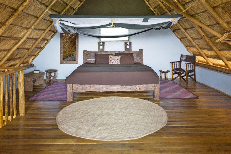 Obergeschoss im Cottage in der Murchison River Lodge