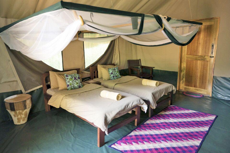 Safarizelt in der Murchison River Lodge