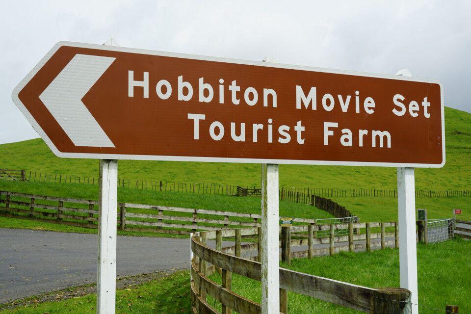 Zu Besuch in Matamata – Das berühmte Hobbiton Movie Set lädt seine Besucher zum Verweilen und Erkunden ein.