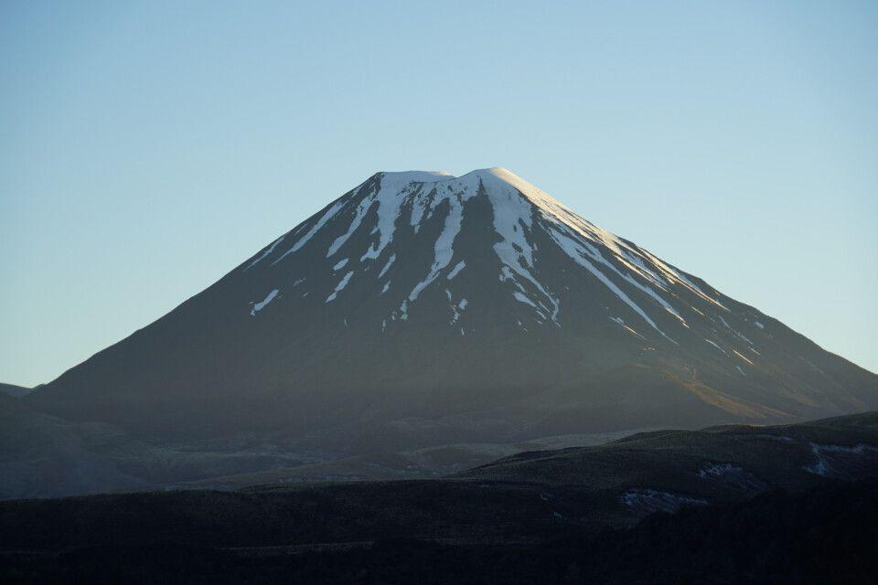 Auch der Mt. Ngauruhoe mit seinen 2291 Metern ist ein wunderschöner Vulkan im Herzen der Nordinsel.