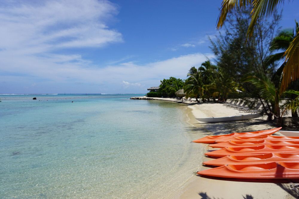 Strand beim Intercontinental Resort Moorea