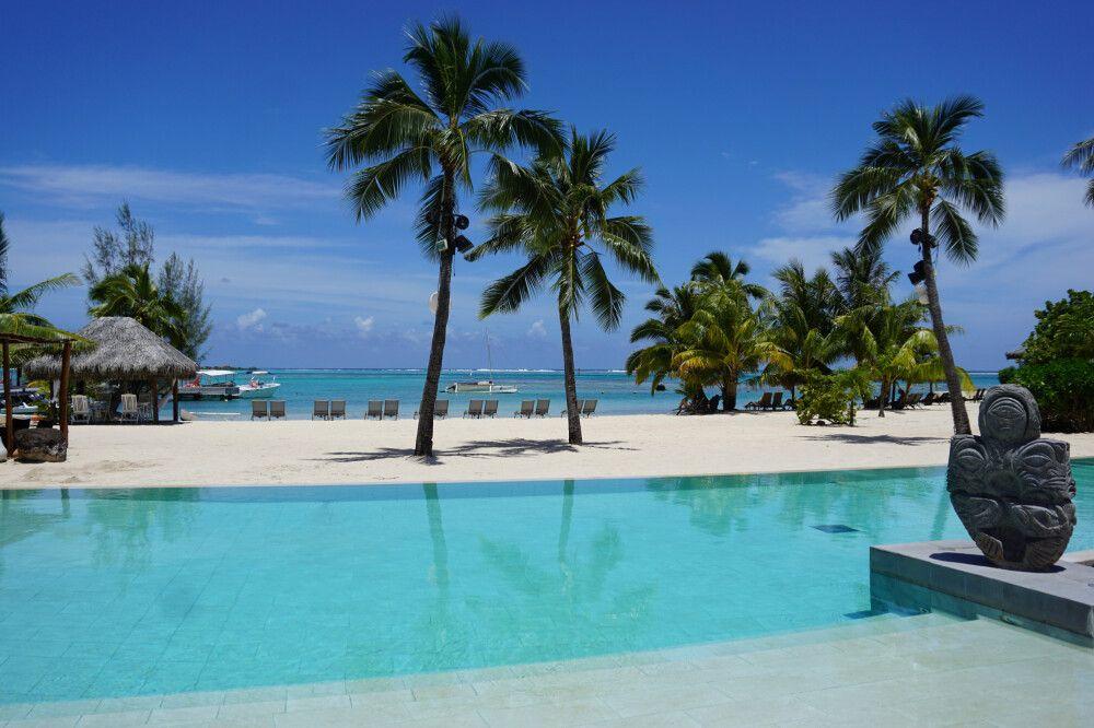 Pool des Intercontinental Resorts Moorea