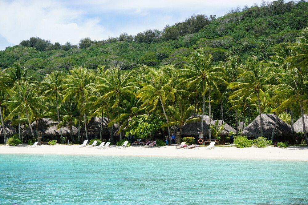 Strand auf Bora Bora (Sofitel Private Island)